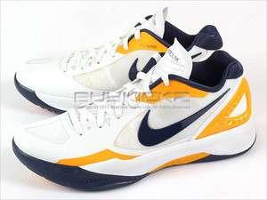Nike Zoom Hyperdunk 2011 Low White/Midnight Navy Del Sol Basketball