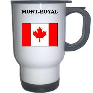 Canada   MONT ROYAL White Stainless Steel Mug
