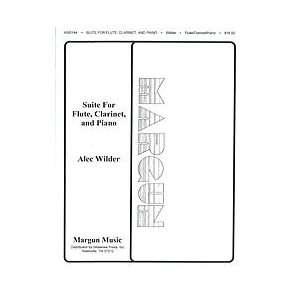 com Alec Wilder Suite For Flute, Clarinet And Piano Composer WILDER