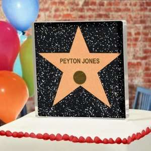 Exclusive Gifts and Favors Hollywood Star Cake Topper By