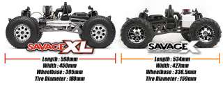 HPI SAVAGE XL 5.9 2.4ghz BIG BLOCK RTR MONSTER TRUCK