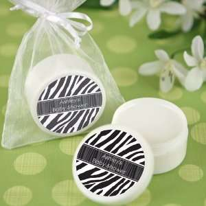 Zebra   Personalized Lip Balm Baby Shower Favors Toys