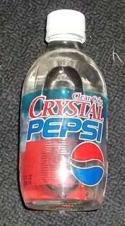 10 % PRICE DROP CLEAR COLA CRYSTAL PEPSI 10 OZ GLASS BOTTLE STILL