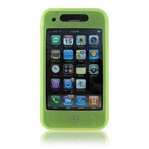 iCandy GREEN Silicone Case for iPhone 3G and 3GS