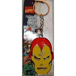 Marvel Comics IRON MAN Metal/Enamel KEYCHAIN Everything