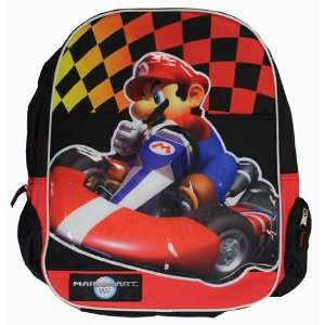 New Super Mario Kart Wii Backpack Nintendo Office