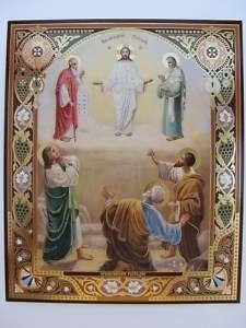 TRANSFIGURATION OF THE LORD Jesus Christ Orthodox Icon