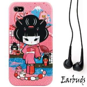 Pink Rocker Mayumi Girl 2pc Hard Case Protective Cover Snap On Made