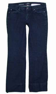 Ann Taylor Loft sz 8 29 Inseam Modern Boot Womens Blue Jeans Pants