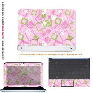 Protective decal sticker for Dell Inspiron 1012 case cover 10mini10 73