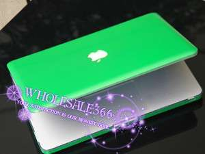 green SOLID Hard Case Cover for NEW Macbook PRO1515.4