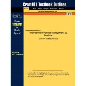 Studyguide for International Financial Management by Madura, ISBN