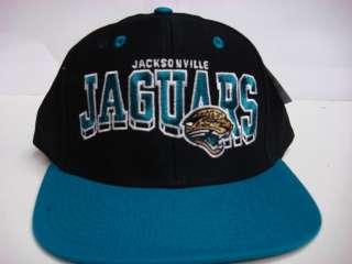 Jacksonville Jaguars Flat Brim Reebok Snapback Cap Vintage Hat NFL