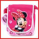 Disney Minnie Mouse School Bag Lunch Snack  Pink Love