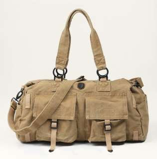 Canvas Casual Duffle Travel Bag Luggage Gym Sports Bag Tote 3 color