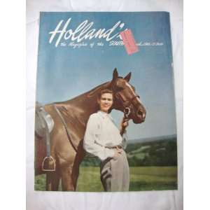 Hollands Magazine March 1949 Texas Farm and Ranch Publishing Books
