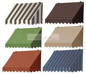 removable window door canvas awnings outdoor sun protection NEW