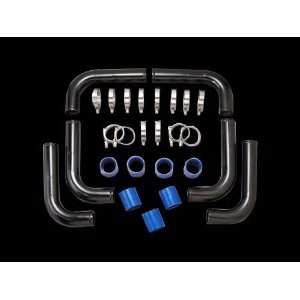ALUM Piping Kit,Mandrel Bent,Black Powder Coated. Automotive