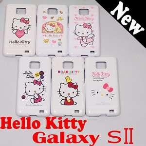 Genuine Hello Kitty Samsung Galaxy S2 Jelly case i9100