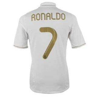 Ronaldo Real Madrid 11/12 Home Soccer Jersey Size Small