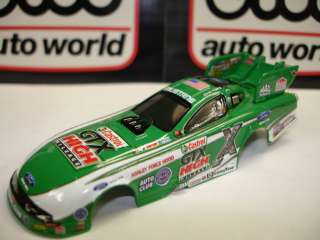 JL, AFX, AW NHRA~JOHN FORCE~CASTROL FORD MUSTANG FUNNY CAR BODY ~ADD