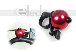 Safety Bicycle Bike Handlebar Bell Ring Horn Alarm RED