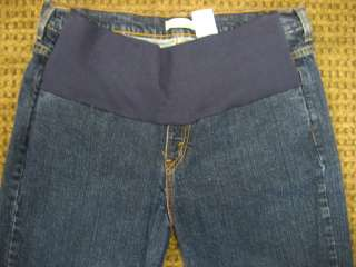 Levi Strauss Maternity Jeans Stretch Bootcut Dark Blue Size 14 XL