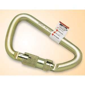 Steel Spring Loaded Twist Lock Carabiner Home Improvement