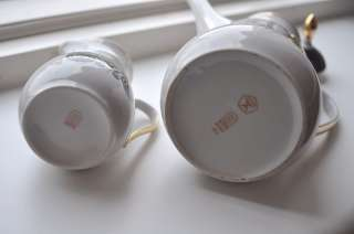 USSR Russian Coffee Pot & Creamer Set by RIGA Factory