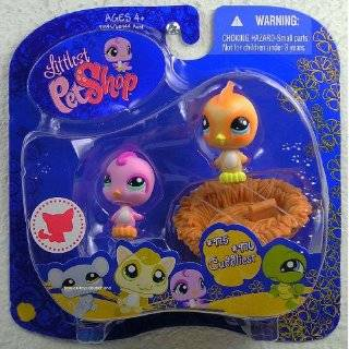 Littlest Pet Shop Dove & Toucan Bird #1906 & 1907 ~2010 Collector Pets