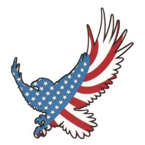 American Flag Eagle Lasier Die Cut Home & Kitchen