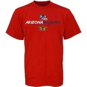 Wildcats Cardinal 2008 Las Vegas Bowl T shirt: Sports & Outdoors