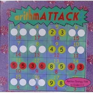 Arithmattack Addition Strategy Game Toys & Games
