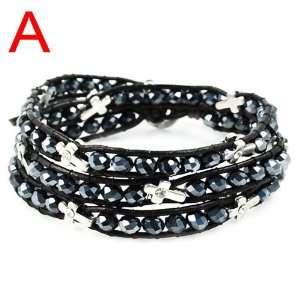 Genuine Leather High end Wrap Bracelet Chanluu Design