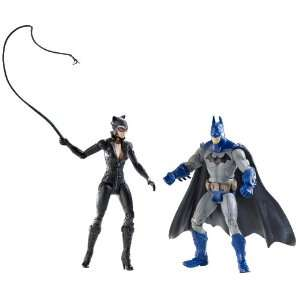 Figure 2Pack Batman Catwoman FULL COLOR Arkham City: Toys & Games