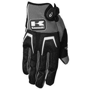 Joe Rocket Kawasaki Cliffhanger Gloves   Medium/Gunmetal