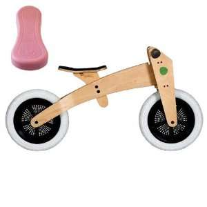 Wishbone 3 in 1 Bike with Bonus Pink Seat Cover Toys & Games