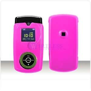 Solid Hot Pink Case Cover for Brand Samsung Beat SGH T539