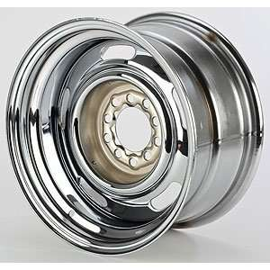 JEGS Performance Products 671230 Chrome Rally Wheel Automotive