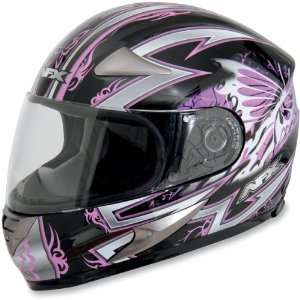 AFX FX 90 Full Face Motorcycle Helmet Passion Pink/Black
