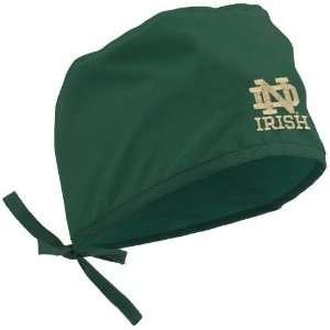 University Of Notre Dame Caps  Notre Dame Fighting Irish Green Scrub