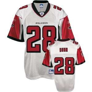 Warrick Dunn White Reebok NFL Replica Atlanta Falcons
