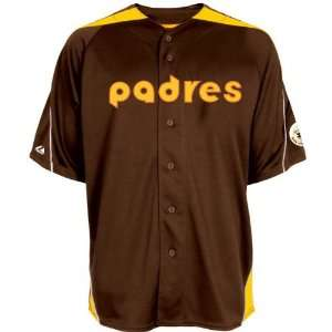 San Diego Padres Laser Cooperstown Throwback Jersey