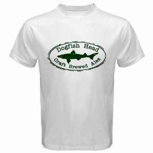 DogFish Head BEER Logo New White T Shirt Size  2XL