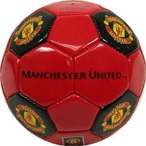 MANCHESTER UNITED OFFICIAL LOGO MINI SOCCER BALL Sports