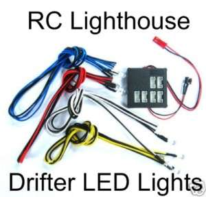Yeah Racing Dark Drifter 6 Slots LED Lights Kit for RC