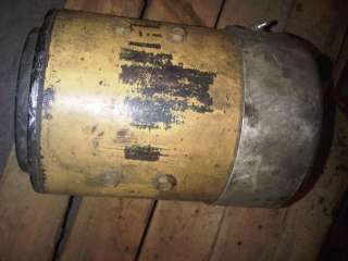 used hydraulic pump motor fits hyster forklift