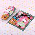 SANRIO HELLO KITTY EYE GLASSES SUNGLASSES (L) SIZE CASE W CLOTH 5353 4