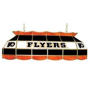 NHL Philadelphia Flyers Stained Glass 40 inch Light