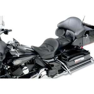 Saddlemen Matching Memory Foam and Fabric Tour Pak Backrest Pad Cover